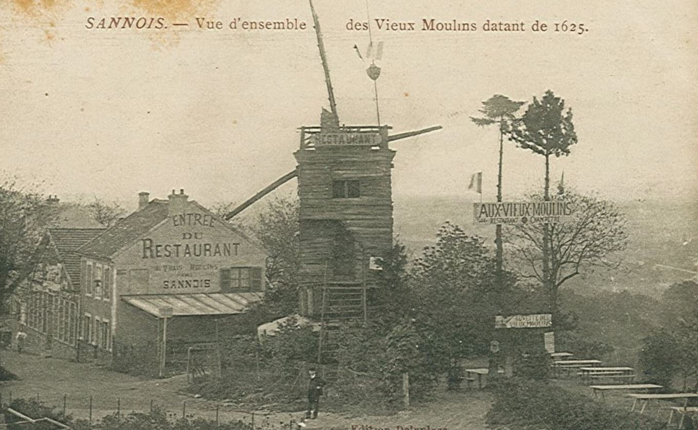Moulin disparu Sannois