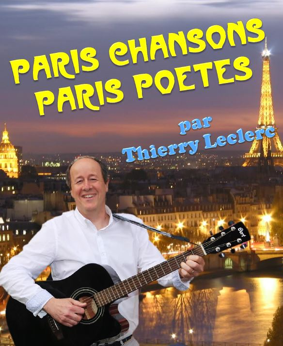 PARIS CHANSONS PARIS¨POETES