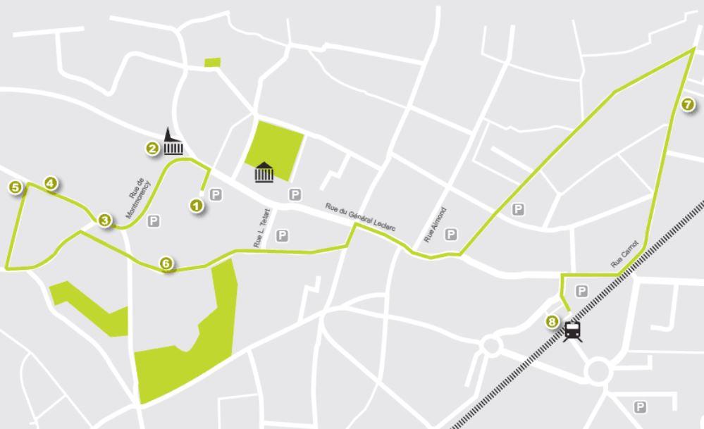 Itineraire du Patrimoine à Groslay
