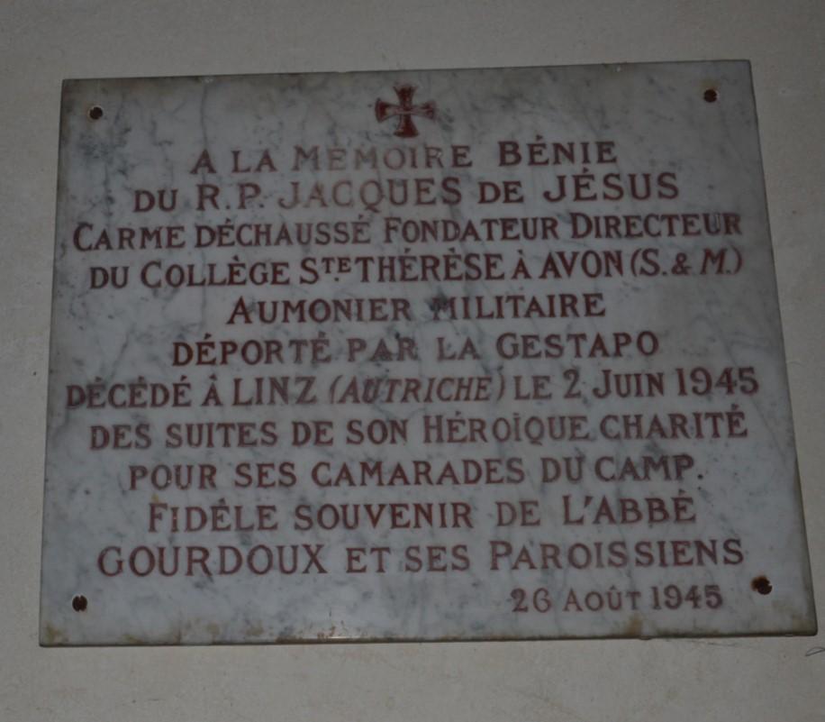 Plaque dédiée à Lucien Bunel