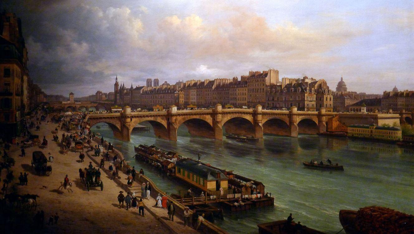 Le Pont Neuf peint par Giuseppe Canella