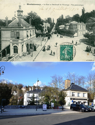 Place Franklin Roosevelt à Montmorency