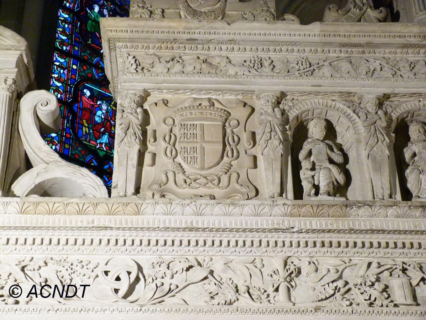 Retable de l'Eglsie de taverny (photo : Association Culturelle Notre-Dame de Taverny)