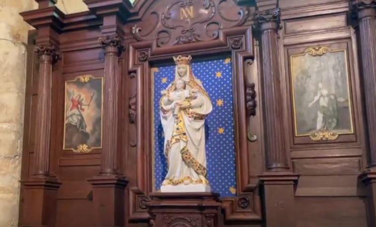 Retable de l'église de Saint-Prix
