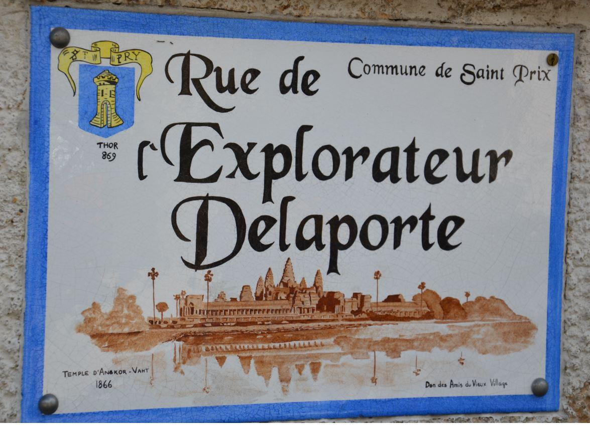 Rue de l'explorateur Delaporte