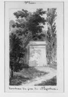 tombeau - image issue du site internet musees-nationaux-malmaison.fr)