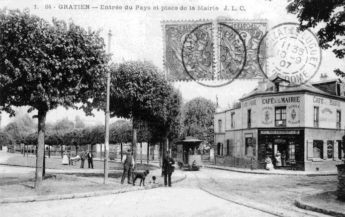 Le tramway à Saint-Gratien