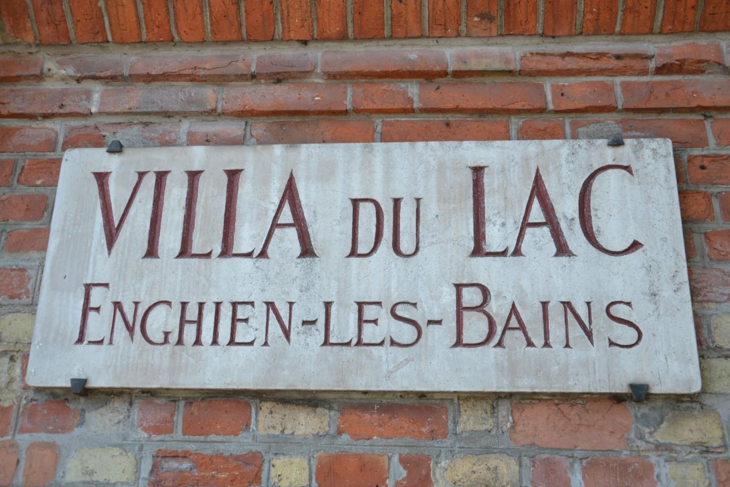 Villa du Lac à Enghien