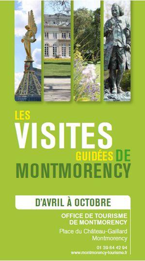 Visites guid es de la ville de montmorency saison 2015 - Maubuisson office de tourisme ...