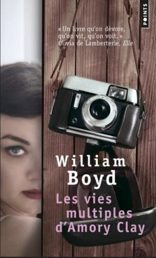 Les vies multiples d'Amory Clay de William Boyd