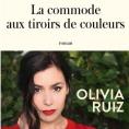 La commande aux tiroirs de couleurs d'Olivia Ruiz