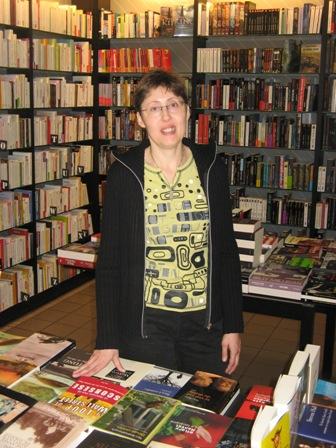 Sophie de la librairie Pierre Lecut