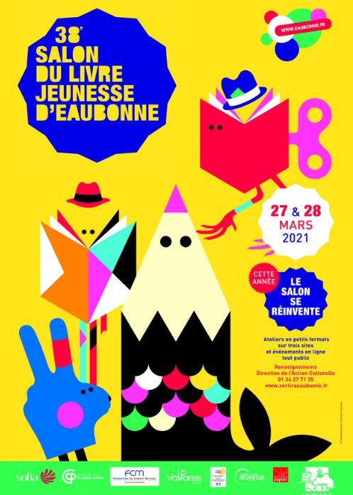 38e salon du livre jeunesse à Eaubonne