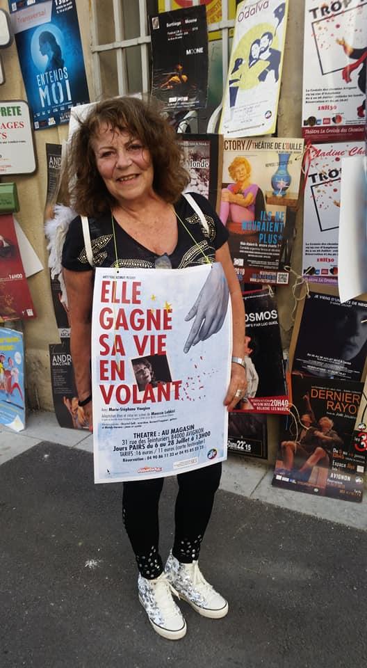 Marie-Stéphane Vaugien au Festival d'Avignon