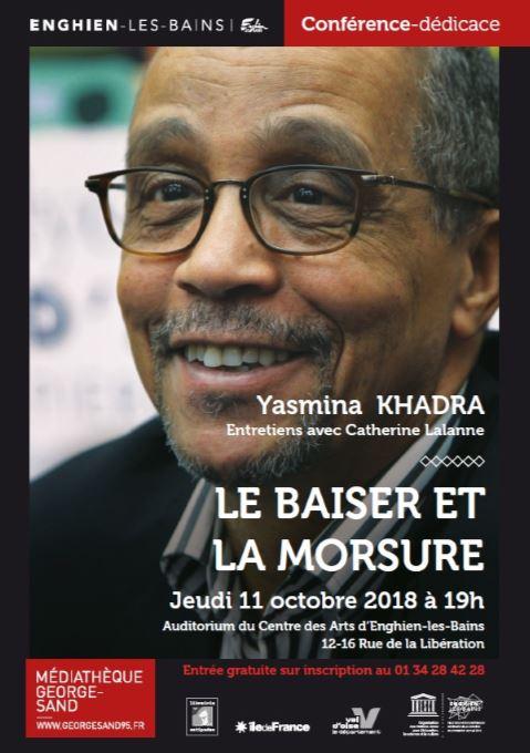 Rencontre dédicaces Yasmina Khadra