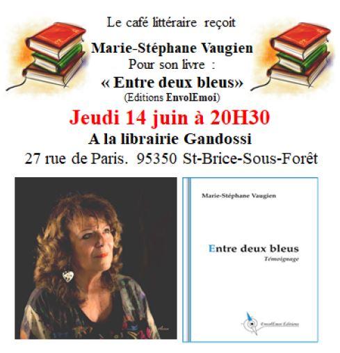 Café littéraire à Saint-Brice-sous-Forêt