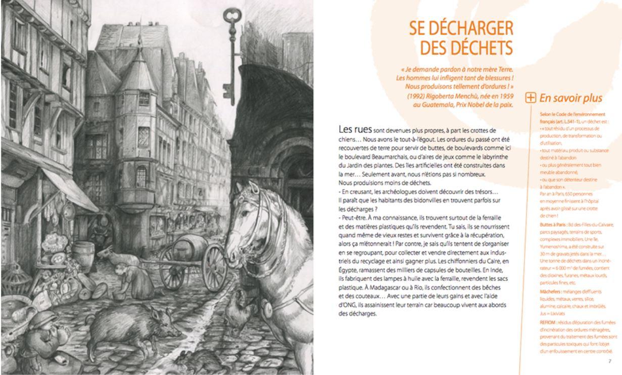 DECHETS UNE MINE D'OR de Marie-Ange Le Rochais