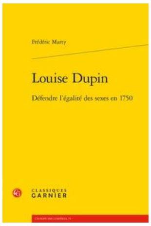 LOUISE DUPIN par Frédéric Marty