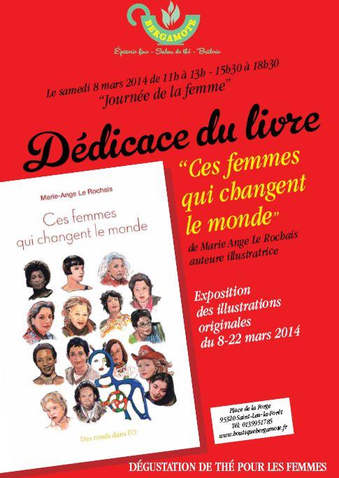 dedicace Marie Ange le Rochais