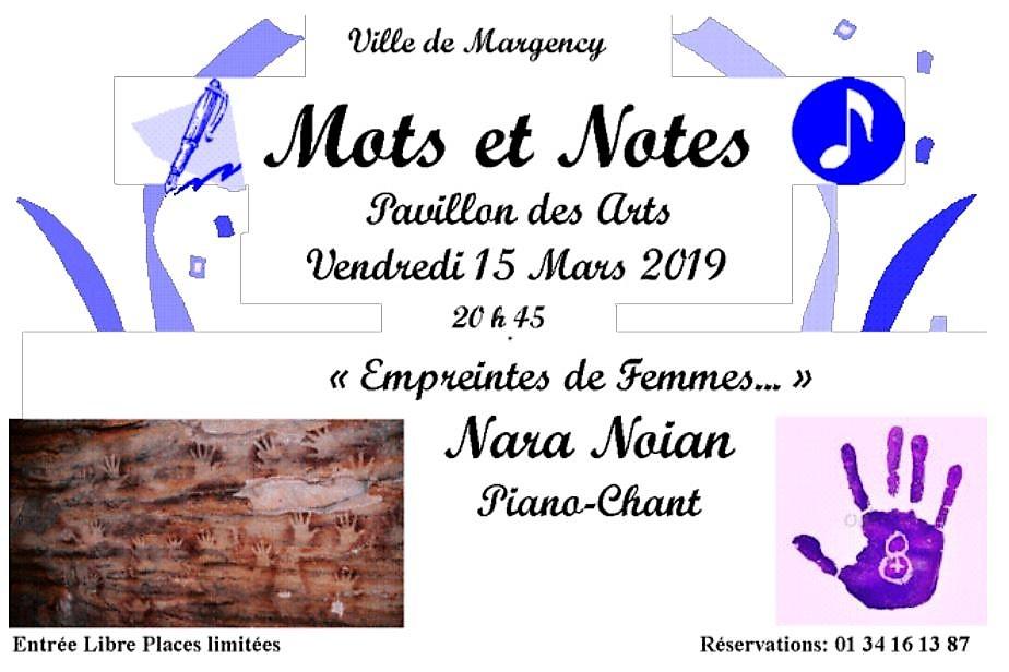 Mots et Notes avec Nara Noïan