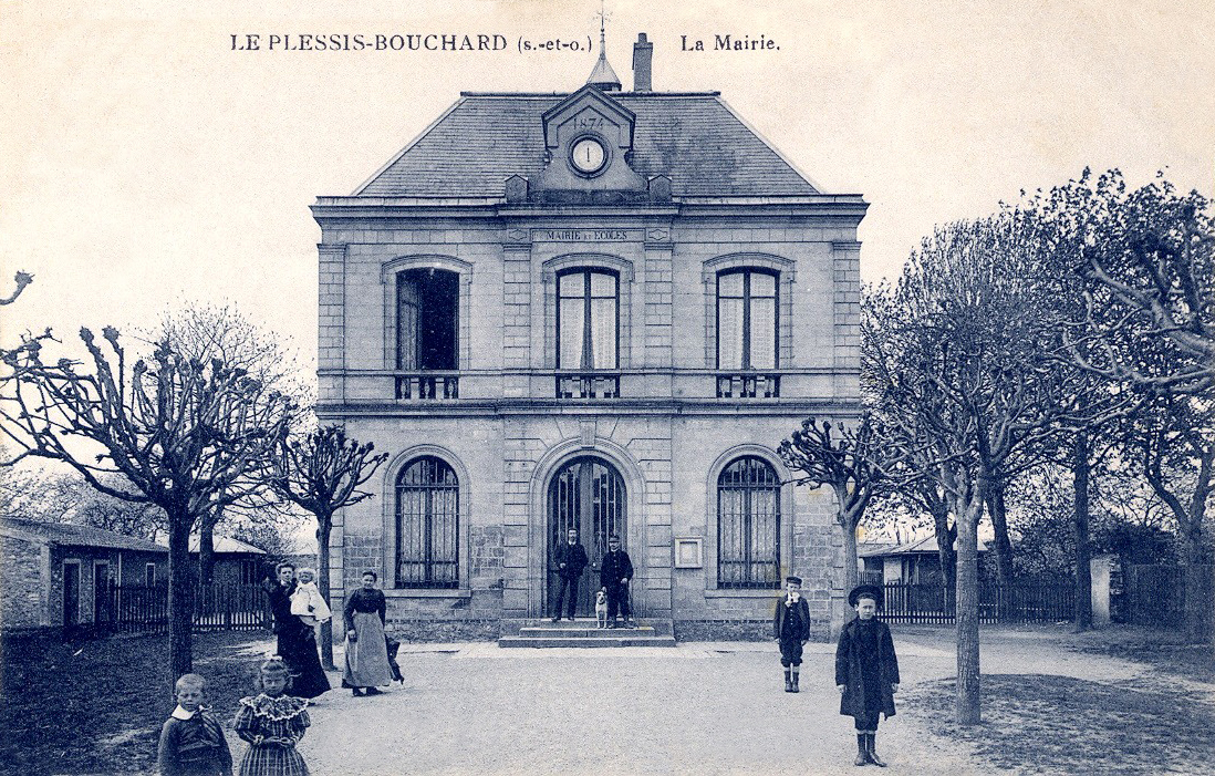 Mairie du Plessis-Bpuchard - carte postale