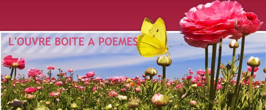 L'ouvre Boite à poèmes de Montmorency