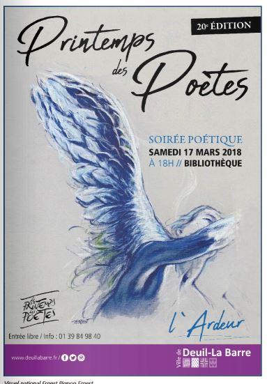 Soirée poétique à Deuil-la-Barre