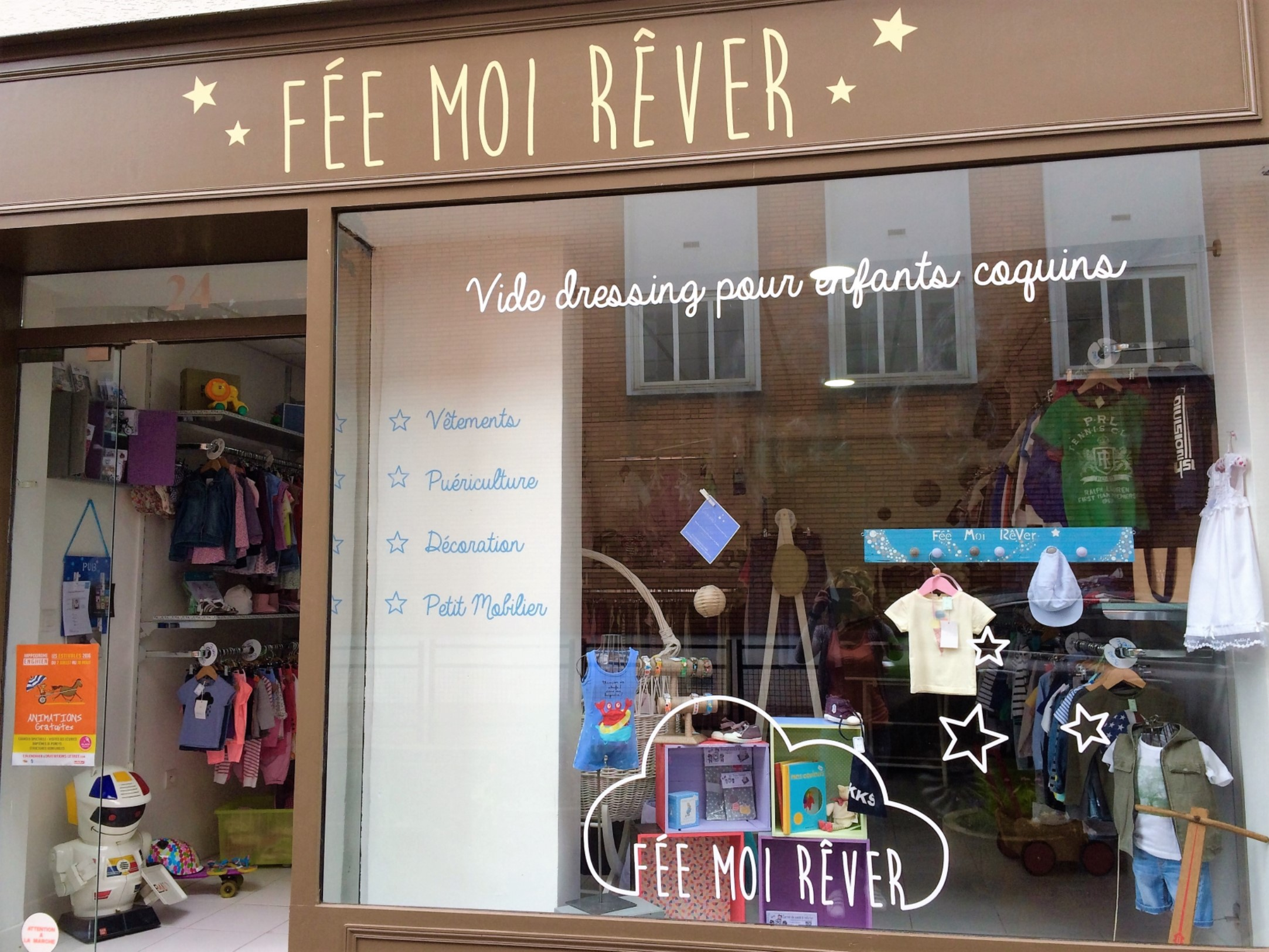 Boutique FEE MOI REVER à ENGHIEN