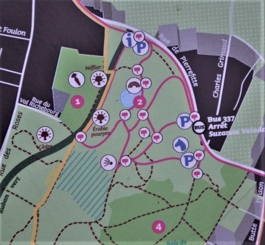 Butte Pnson à Montmagny -Parcours découverte Maurice Utrillo