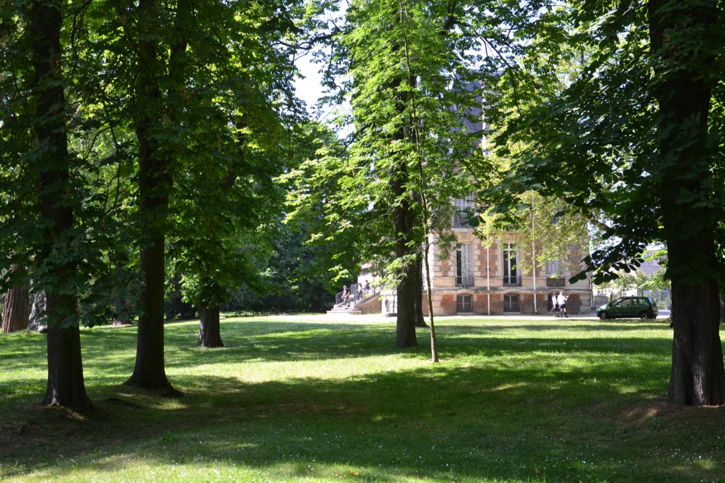 Coulée verte Margency - Eaubonne : parc du Château du Val Joli