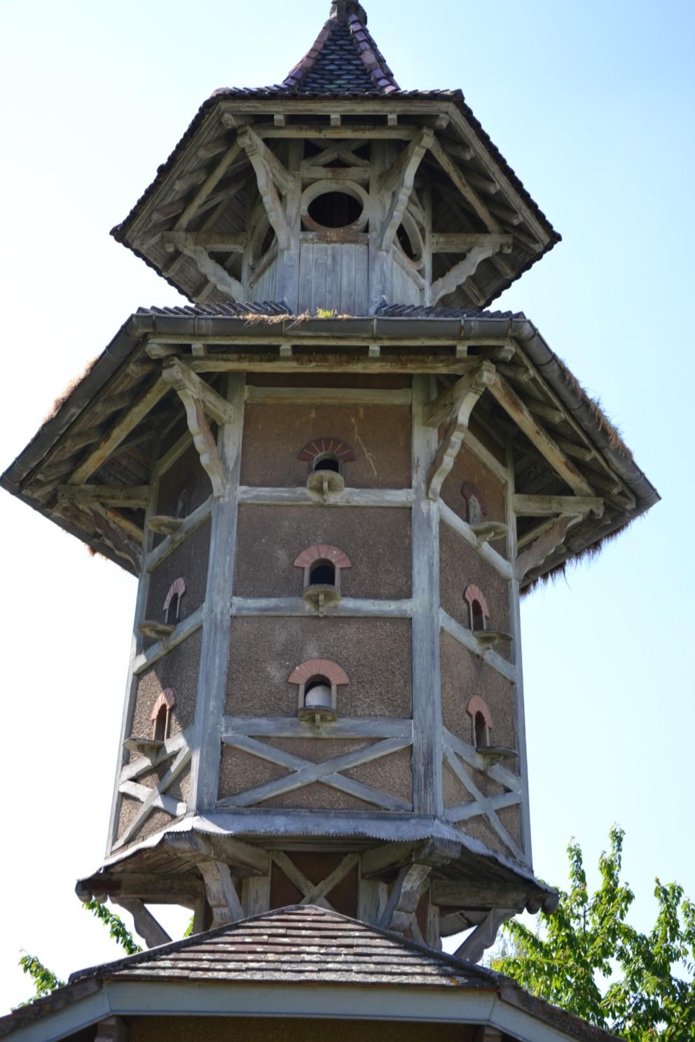 Coulée verte Margency - Eaubonne - Pigeonneir du Château du Val Joli