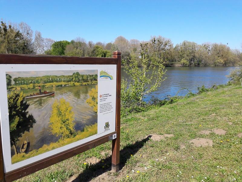 Chemin des peintres à La Frette-sur-Seine