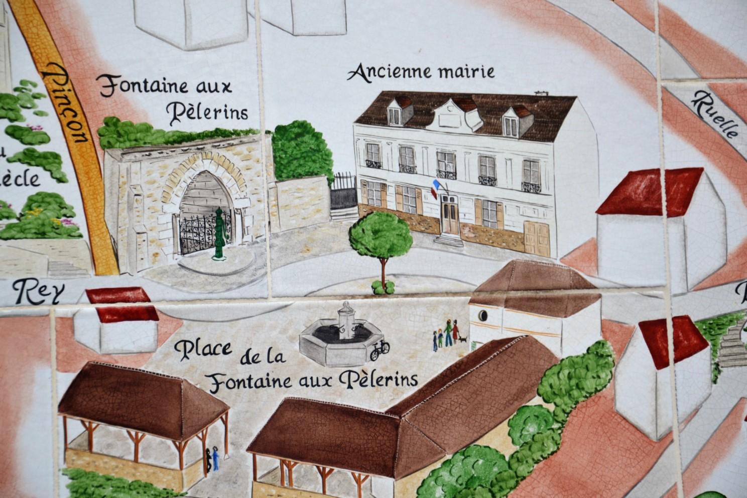 Plan de Saint-Prix