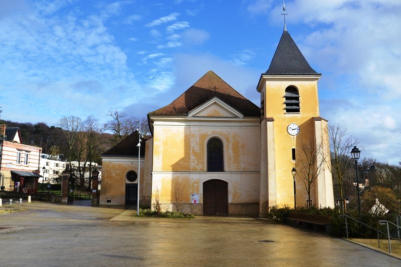Eglise Saint-Médard à Andilly