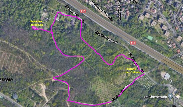 Circuit la Montagne de Franconville