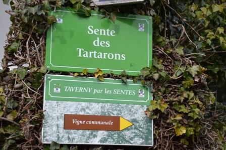 sENTE DES tARTARONS TAVERNY