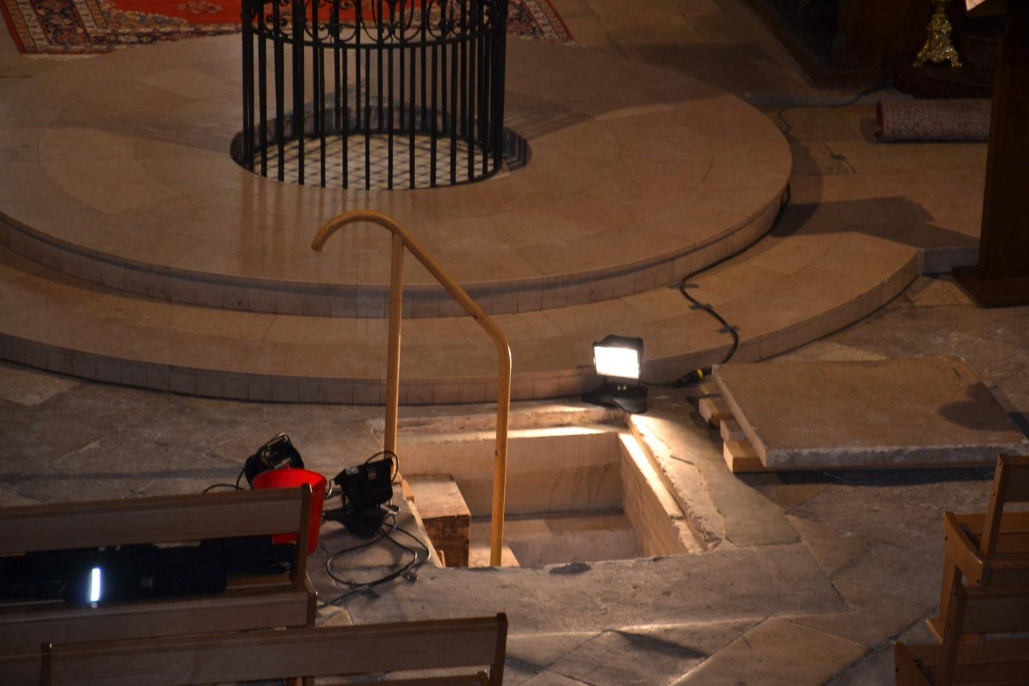 Ouverture de la crypte de la Collégiale Saint-Martin de Montmorency