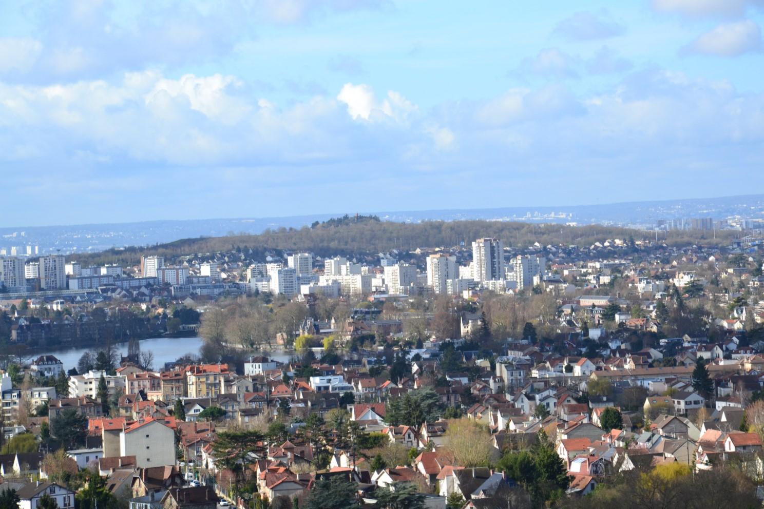 Vue de la Collégiale Saint-Martin de Montmorency