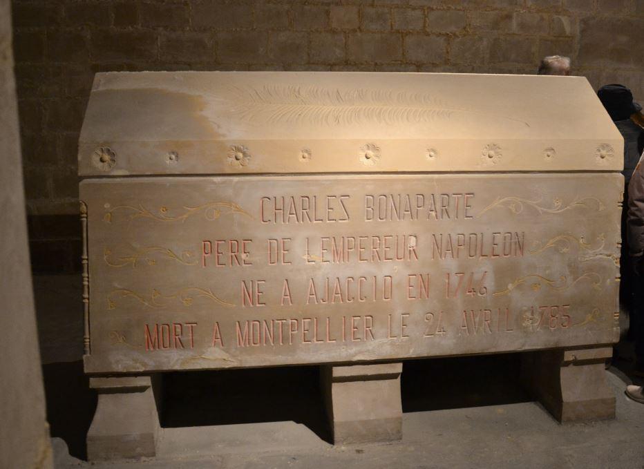 tombeau vide de Charles Bonaparte