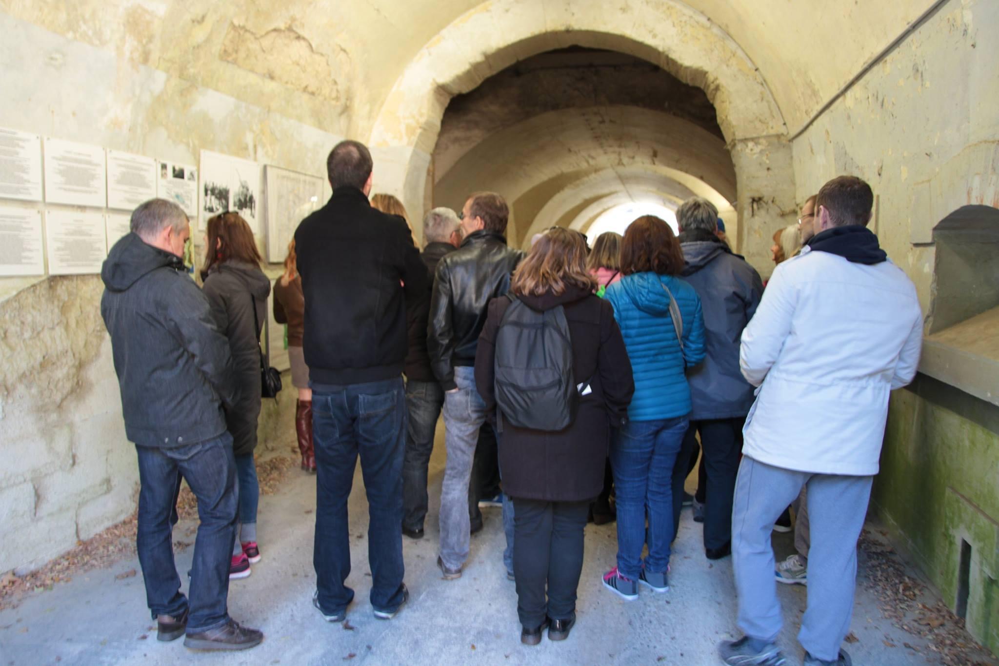 Visite du Fort de Cormeilles-en-Parisis (photo issue site internet Amis du Fort)