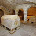 Les visites de la crypte impériale de Saint-Leu-la-Forêt reprennent!