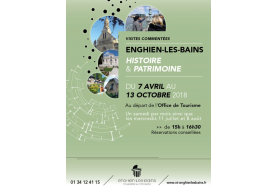Visites commentées d'Enghien: trois parcours pour (re)découvrir l'histoire et l'architecture de la station thermale!