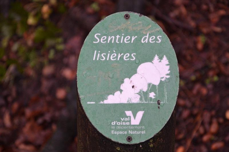 Sentier des lisières de la forêt de Montmorency