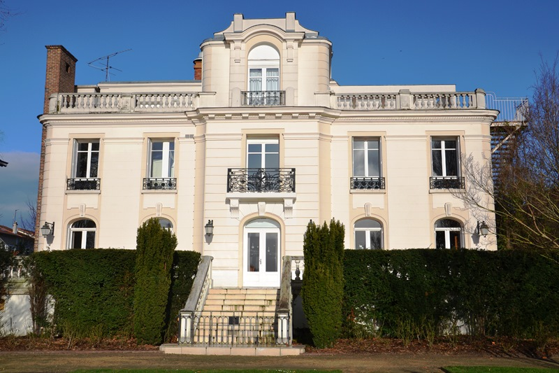 Villa du lac à Enghien (février 2020)