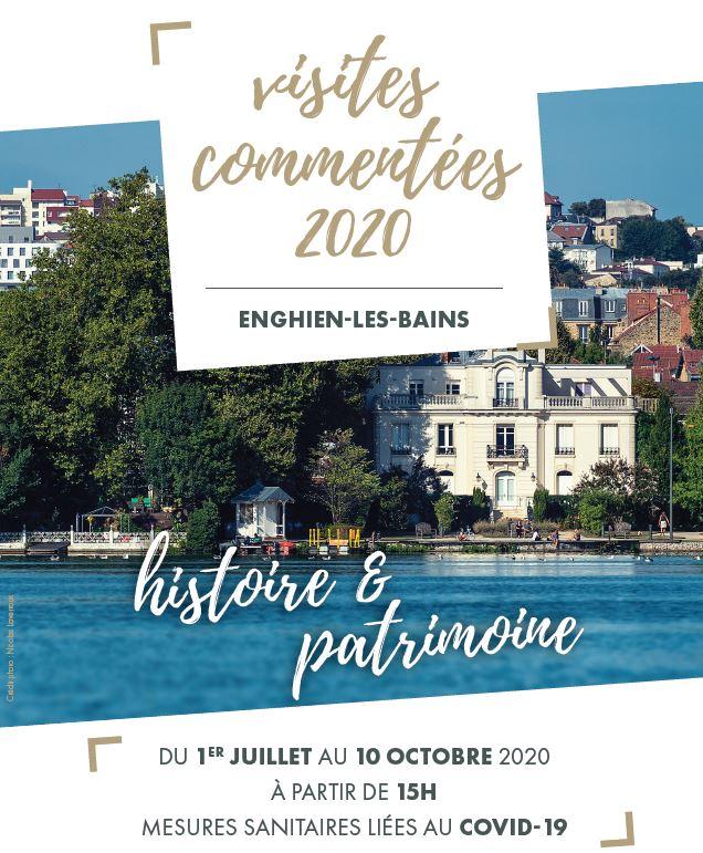 Visites commentées Enghien 2020