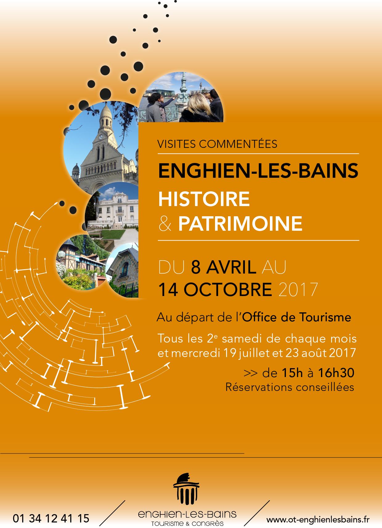 Visites d'Enghien - Programme 2017