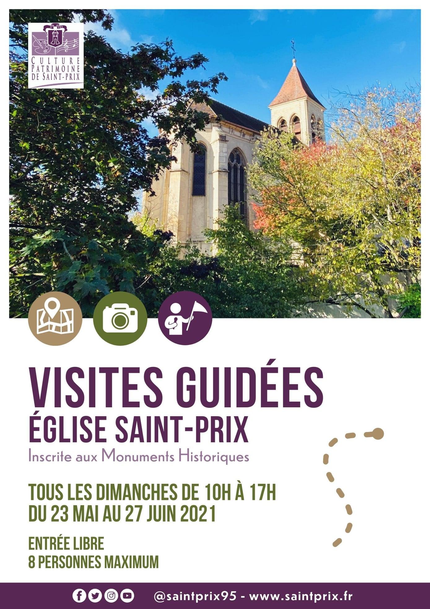 Visites église Saint Prix 2021