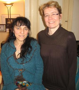 Brigitte Léger et Sylvie Tellier