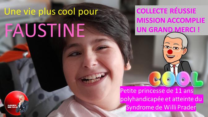 Collecte réussie pour Faustine