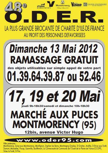 ODER MONTMORENCY  17 19 20 MAI 2012